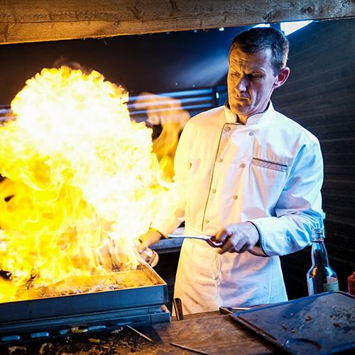 Cuisinier atelier foie gras